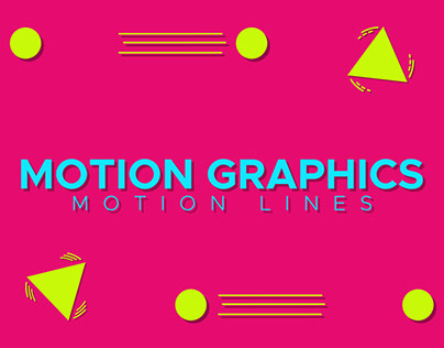 Motion Graphics Motion Lines Experiment