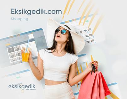 Eksikgedik.com UI/UX Design - Case Study