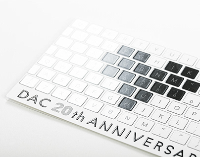 DAC 20周年広告20th Anniversary Advertisement of DAC