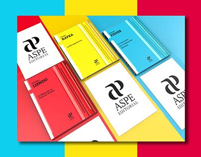 """""""ASPE"""" Editorial / Graphic line / Books Design"""