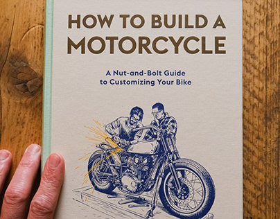 How to Build a Motorcycle Book Illustrations