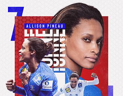 Championnes d'Europe x Women's EHF EURO 2018