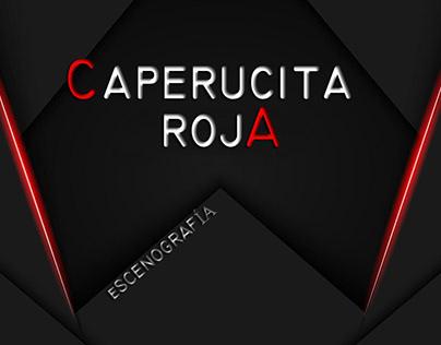 Escenografía Caperucita Roja