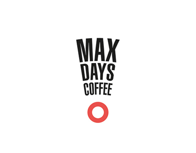 """Логотип для кофейни """"MAX DAYS"""""""