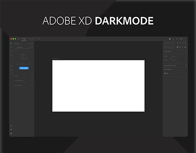 Adobe XD - Darkmode UI