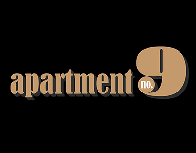 Apartment No. 9 Logo Design Exploration