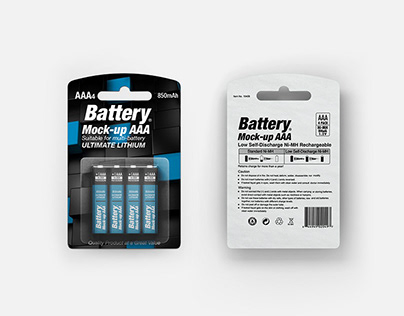 Battery AAA Mock-up