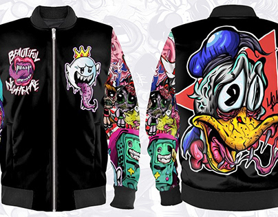 Nightmare Toonz Bomber Jacket