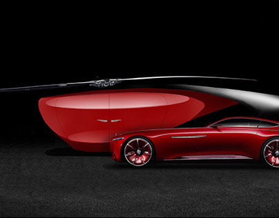Maybach Caelus: A Sculpture for the Sky