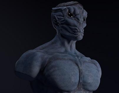 Alien Bust