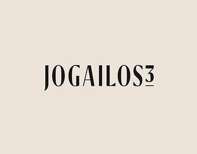 Jogailos3 Luxury Residence Branding / Identity Design