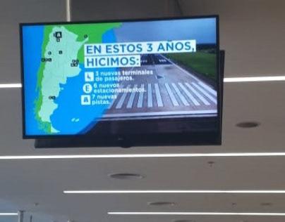 Infra - Pieza audiovisual aeropuertos de Argentina 2019