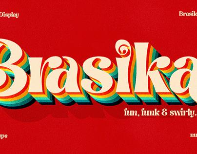 Brasika Display Font