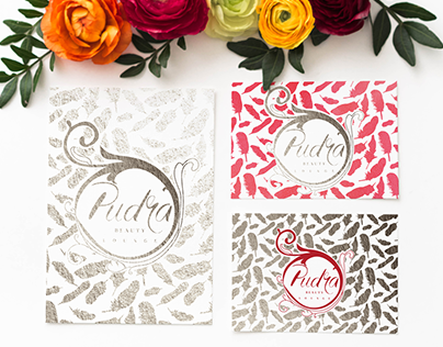 LOGO for beauty lounge PUDRA