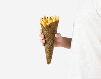 Peel Saver - ecological fries packaging