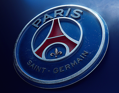 Paris Saint-Germain - Logo 3d
