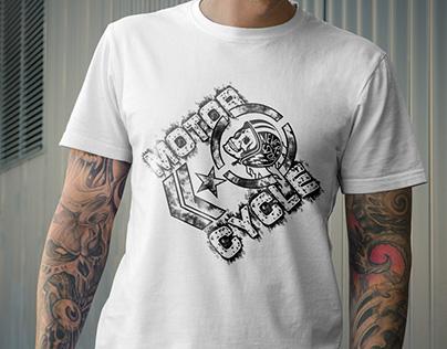 MotorCycle T-Shirt Design