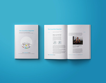 Brand System Design for The Guardianship Project