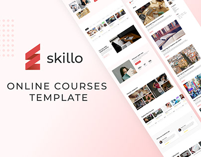 LMS | Online courses template