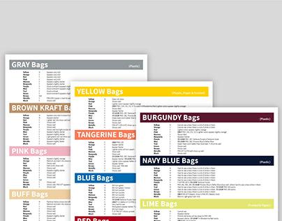 Flexo Print Color Guide