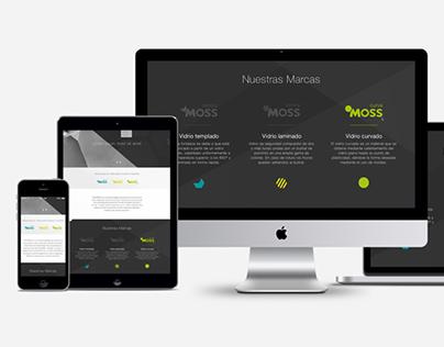 Interface UI VidrioMoss
