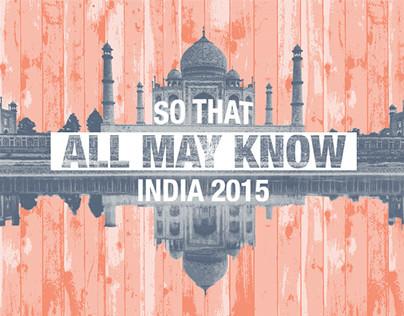 India Mission Trip Shirt