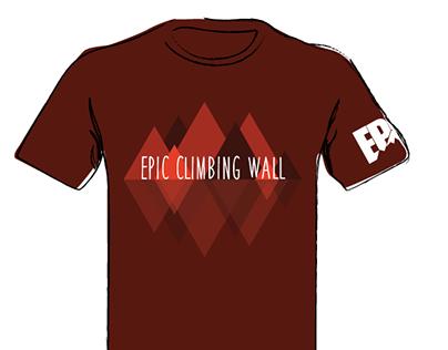 Climbing Wall Tee Shirts