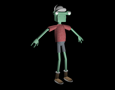 3D Character Render of Enod