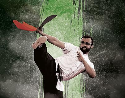 Associação Mantis de Kung Fu - Poster