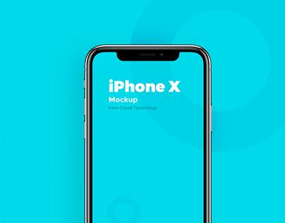 Free PSD : iPhone X Mockup PSD