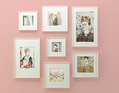 Classic Art with Washi Tape