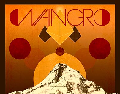 """Waingro """"Mt. Hood"""" - Album Artwork and Poster"""