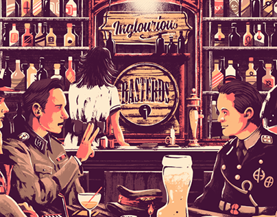 Inglourious Basterds x Screenprint