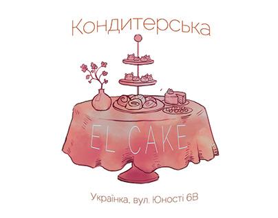 El Cake visit card
