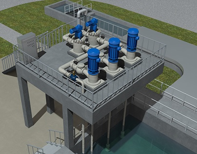 Overview of Gills Creek Waste Water Treatment Plant