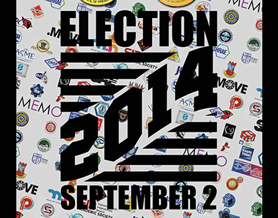 Campus (ORG) Election 2014 Poster