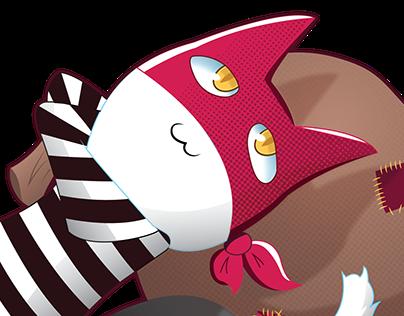 Robbin The Cat; Cereal Mascot