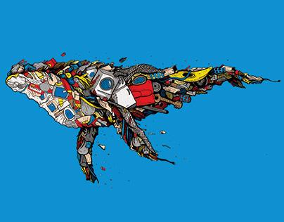Trash Whale