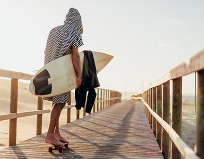 FUTAH SURF PONCHOS || 2018 collection