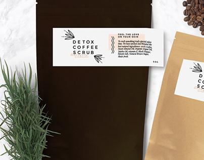 The Coffee Scrub - Brand Identity
