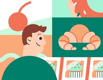 Dssert - Brand Identity & Illustrations