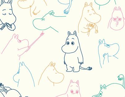 The {Extended} Moomin Family Tree