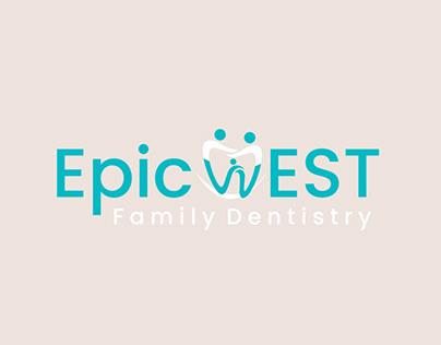 Runner-Up Logo for Epic west family dentistry