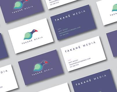 Takahe Media Business Cards