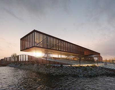 Island revitalization concept, Hamburg