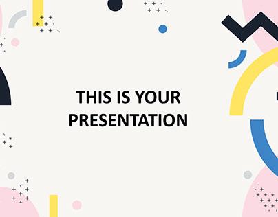 Navona Free Minimal PowerPoint Template
