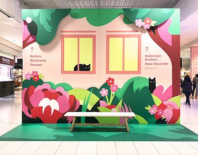 Sylvia Park Shopping Mall – 3D Spring Installation