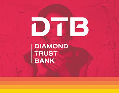 DIAMOND TRUST BANK (DTB) WINDOW BRANDING