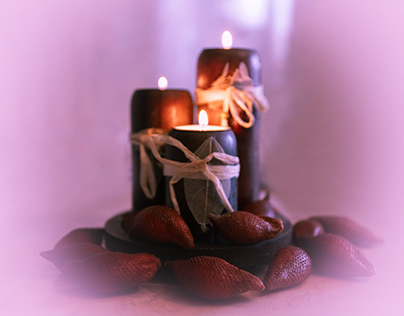 Candle & salak