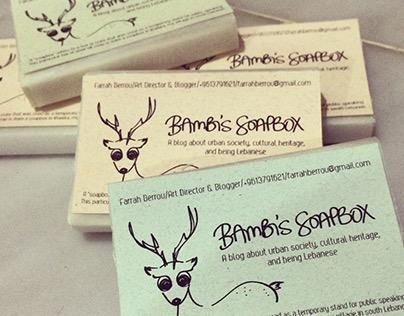 Bambi's Soapbox Business Cards